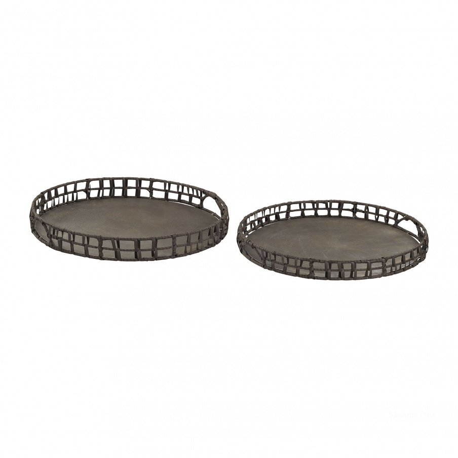 Поднос Pewter Trays Dimond Home