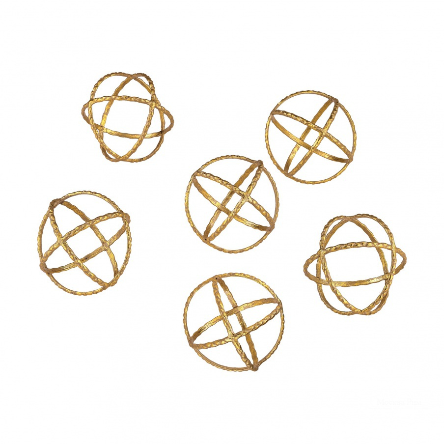 Аксессуар Gold Orbs Dimond Home