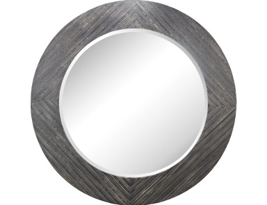 Настенное Blackwall Wood Framed Wall Mirror In Black Ash Dimond Home