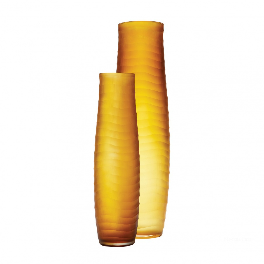 Ваза Umber Matte Cut Vases - Set Of 2 Dimond Home