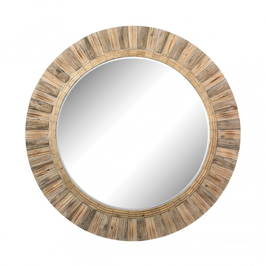 Настенное Oversized Round Wicker Mirror Dimond Home