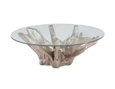 Стол Champagne Teak Root Coffee Table Dimond Home
