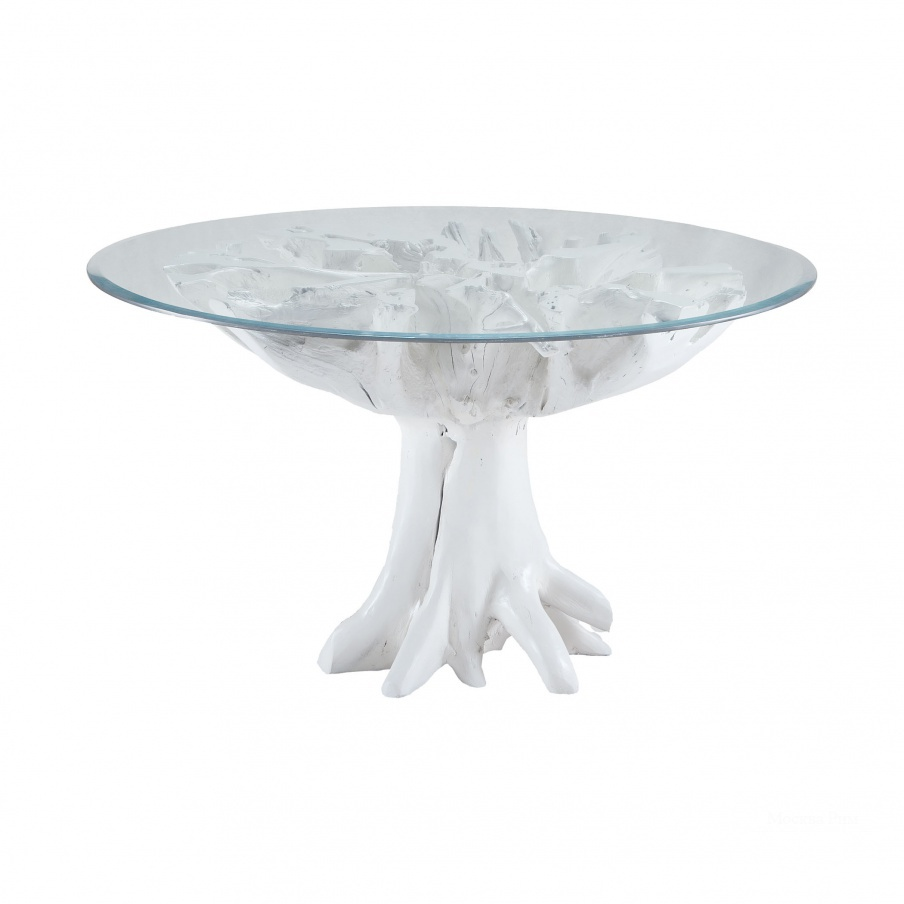 Стол White Teak Root Entry Table Dimond Home