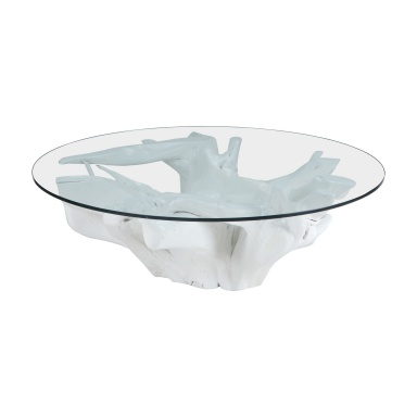 Стол White Teak Root Coffee Table