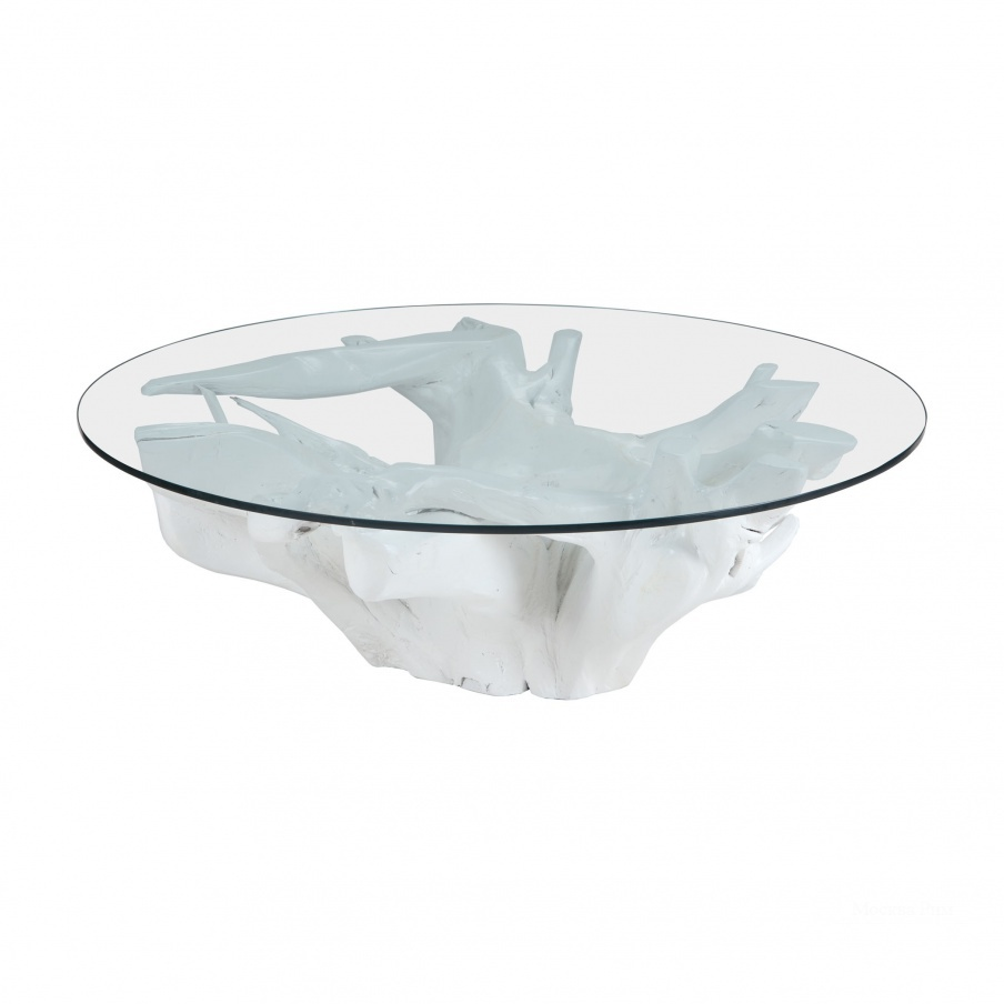 Стол White Teak Root Coffee Table Dimond Home