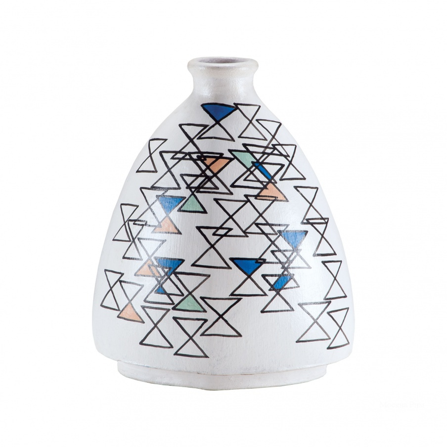 Ваза Stacking Eights Hand Painted Vase Dimond Home