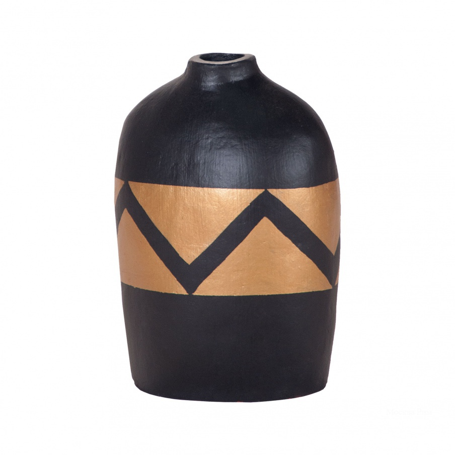 Ваза Golden Wave Hand Painted Vase Dimond Home