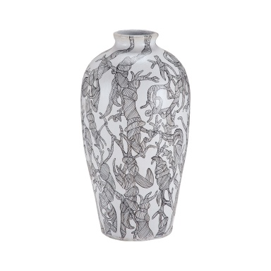 Ваза Thicket Hand Painted Vase