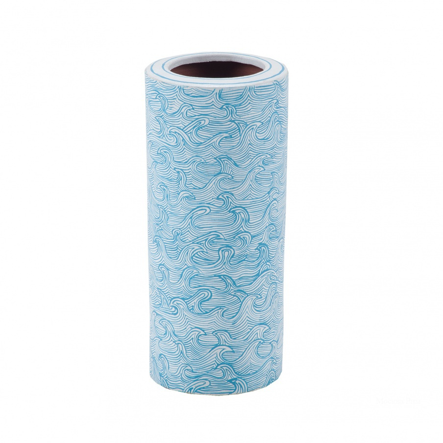 Ваза Hand Painted Waves Vase Dimond Home