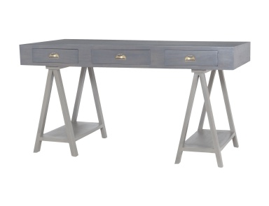 Стол письменный Huffman Desk In Antique Smoke With Grain De Bois Garden Gate Dimond Home