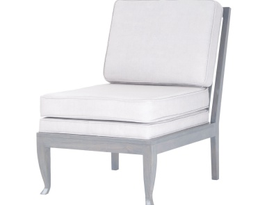 Кресло Janice Chair In Antique Smoke With Morning Mist Linen Upholstery Dimond Home