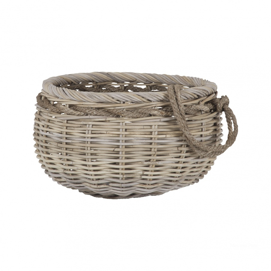Корзина Sumbawa Natural Rattan Basket - Small Dimond Home