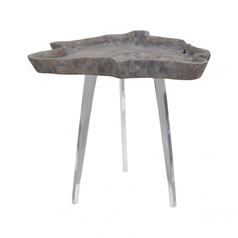 Стол Jambi Accent Table In Aged Grey Wash Dimond Home