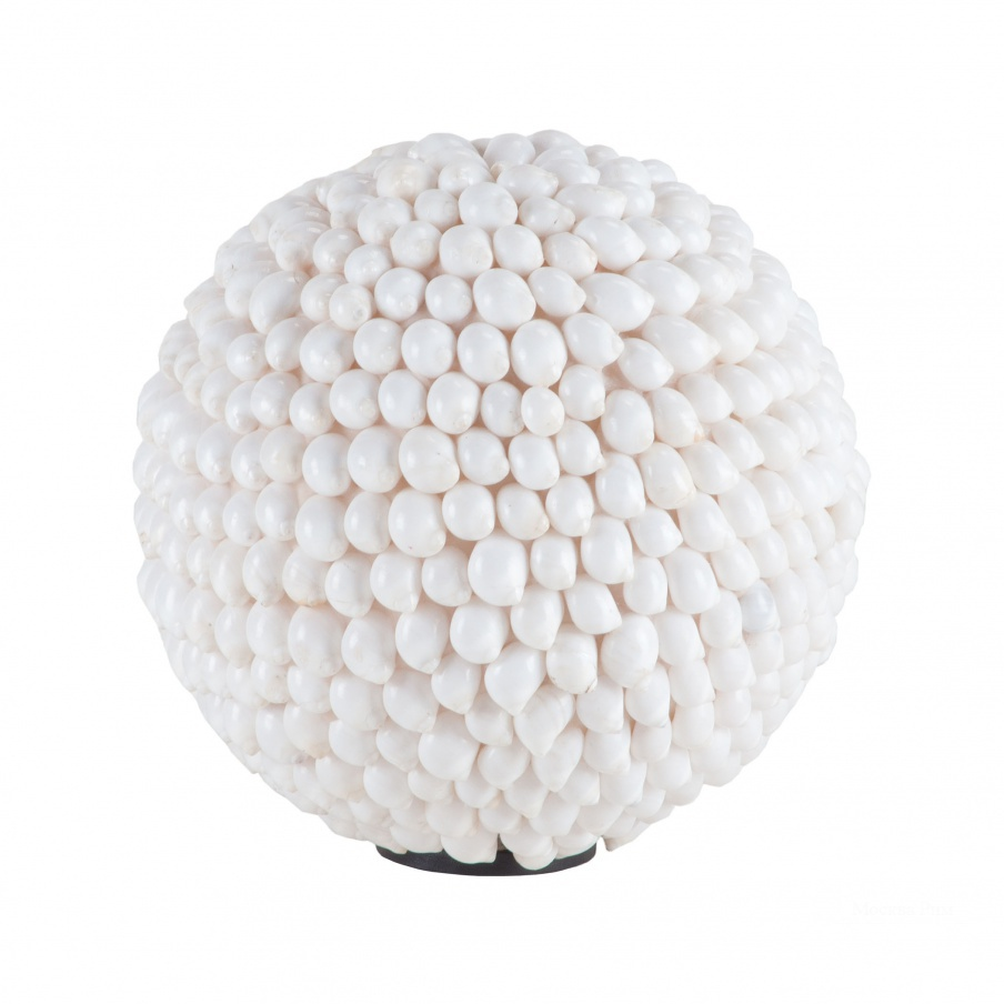 Аксессуар White Hermit Shell Ball Dimond Home