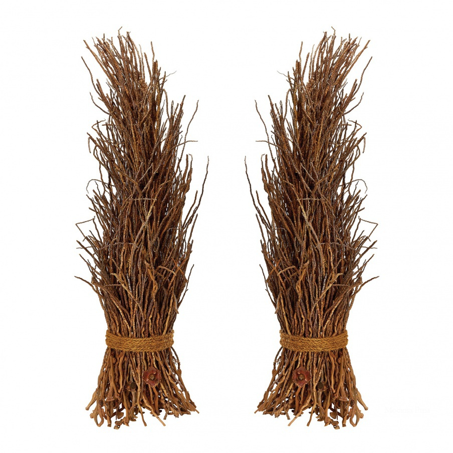Аксессуар Natural Coco Twig Sheaf - Set Of 2 Dimond Home