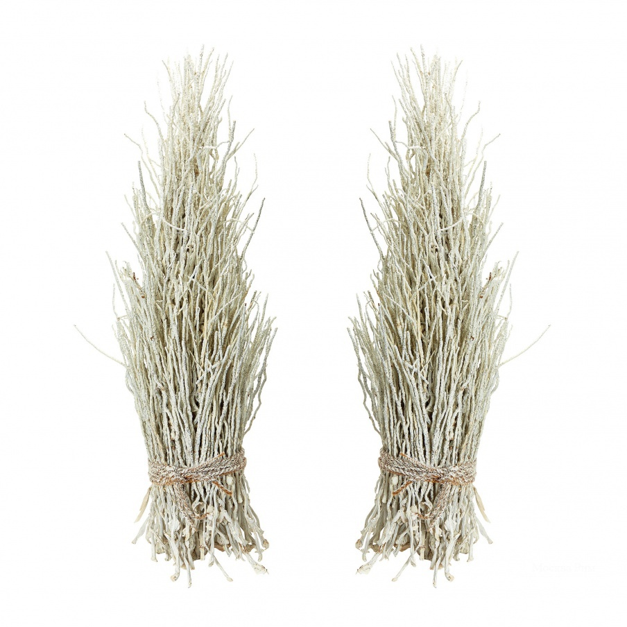 Аксессуар White Washed Coco Twig Sheaf - Set Of 2 Dimond Home