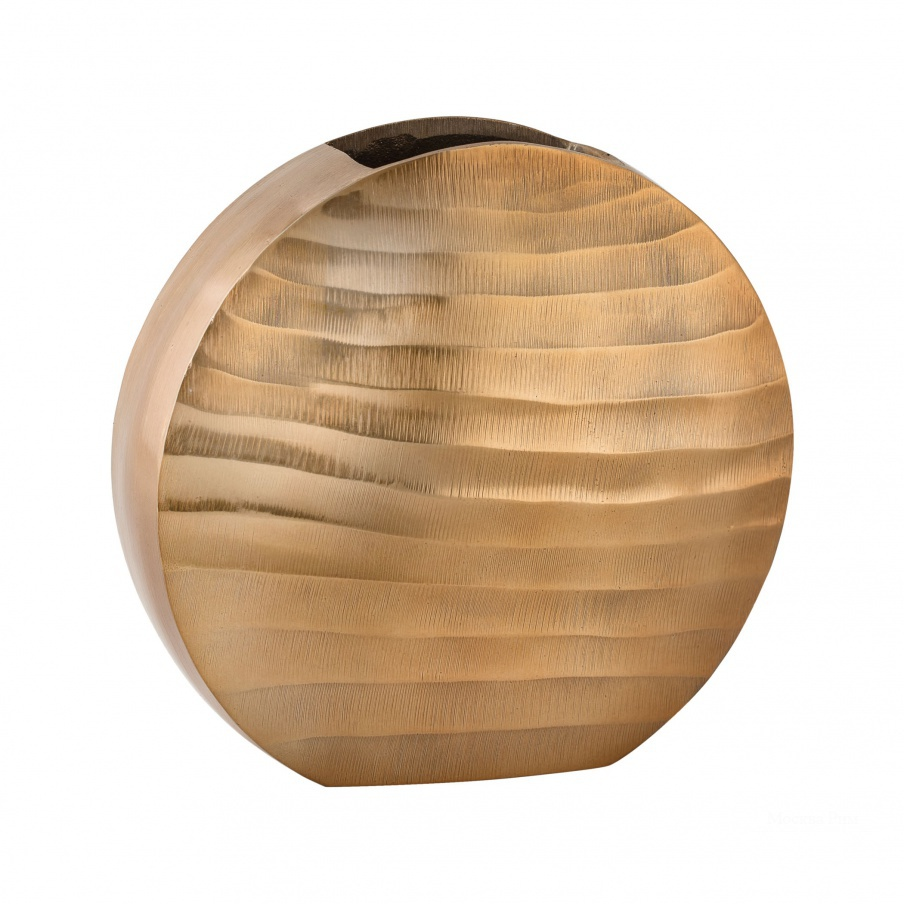 Ваза Faux Bois Oval Vase Dimond Home