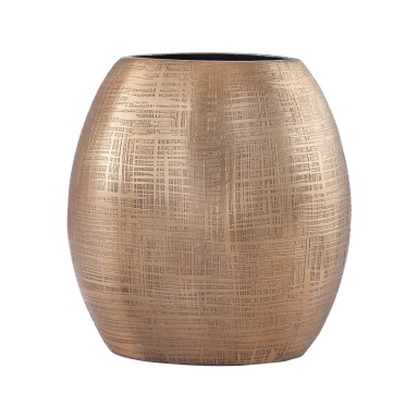 Ваза Kolkata 7-Inch Vase In Gold