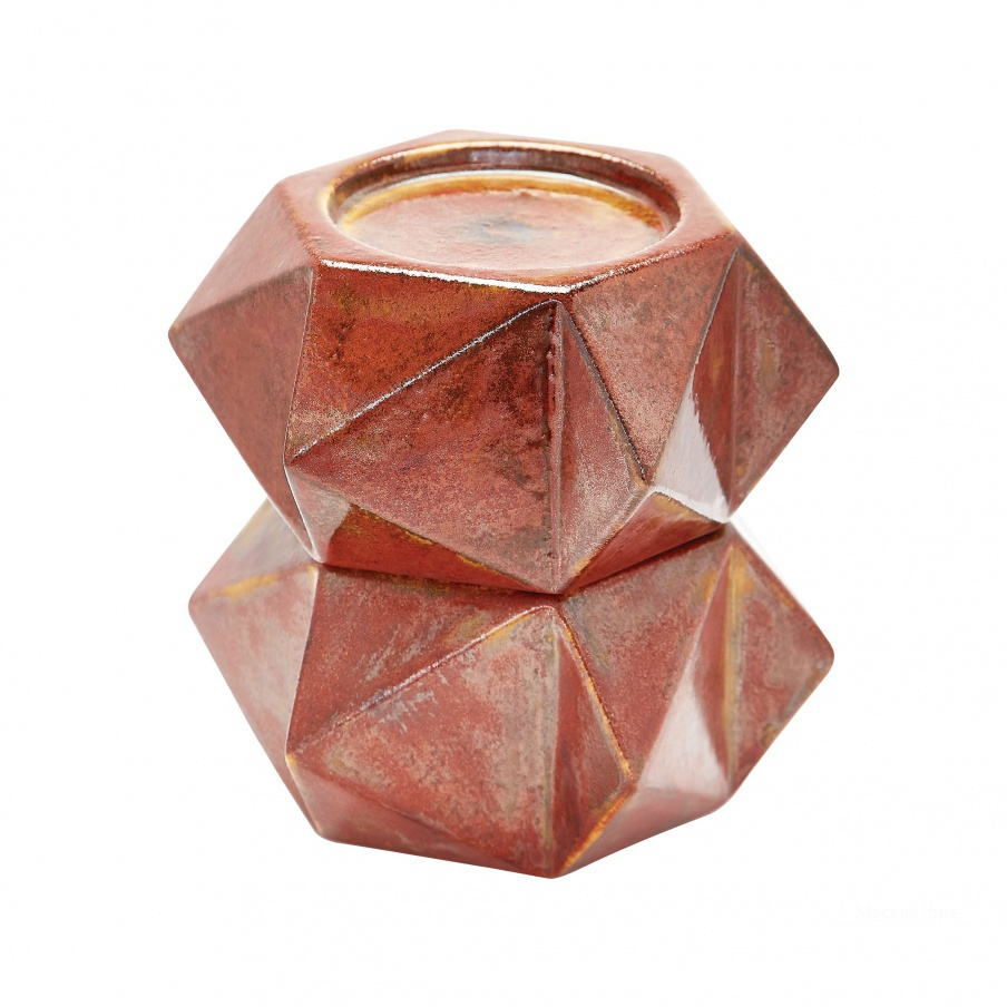Подсвечник Large Ceramic Star Candle Holders - Russet. Set Of 2 Dimond Home