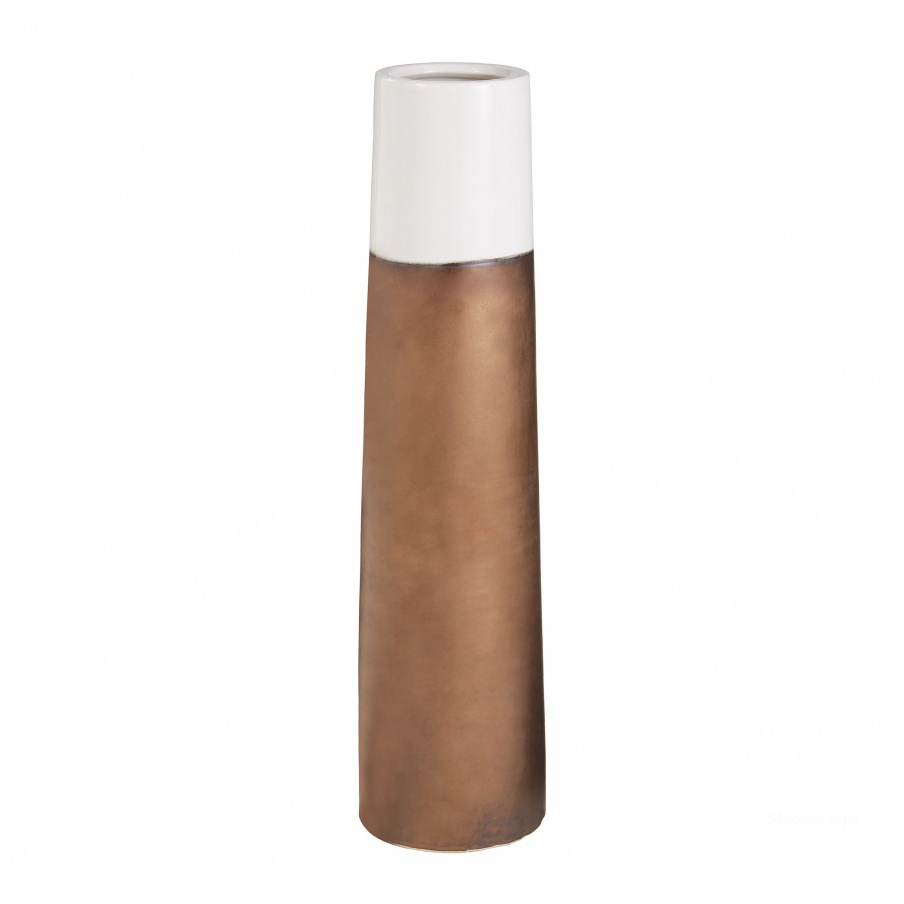 Ваза Dip Two-Tone Ceramic Tubular Vases Dimond Home