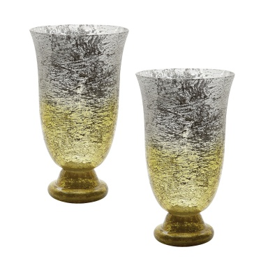 Ваза Lemon Ombre Flared Vase - Set Of 2