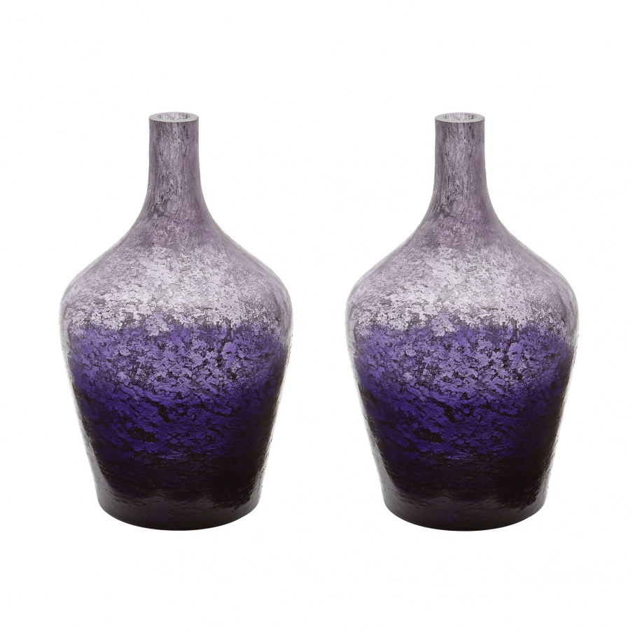 Ваза Plum Ombre Bottle - Set Of 2 Dimond Home