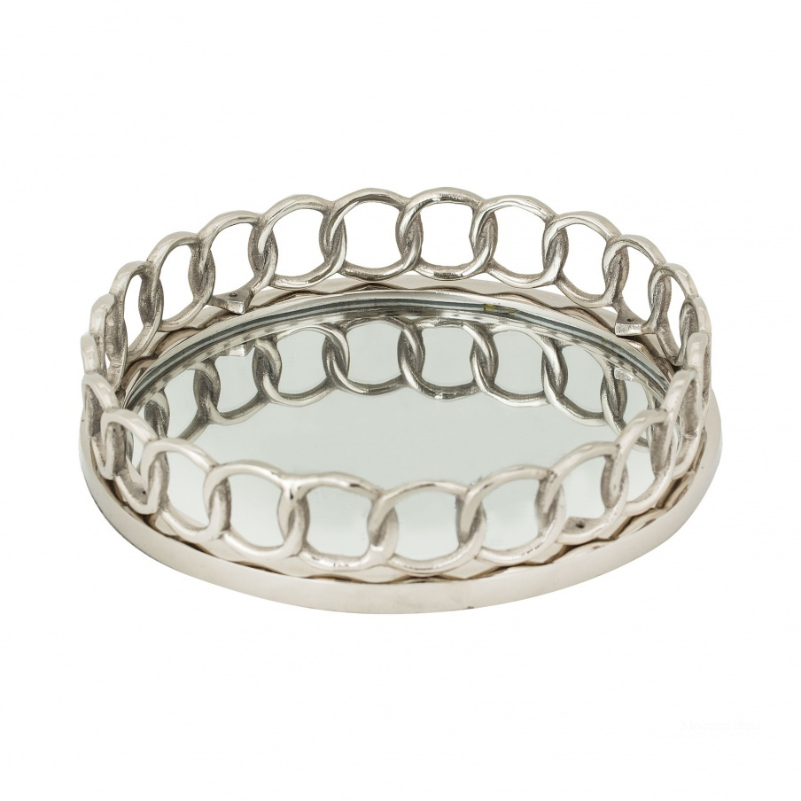 Поднос Nickle Ring Tray Dimond Home