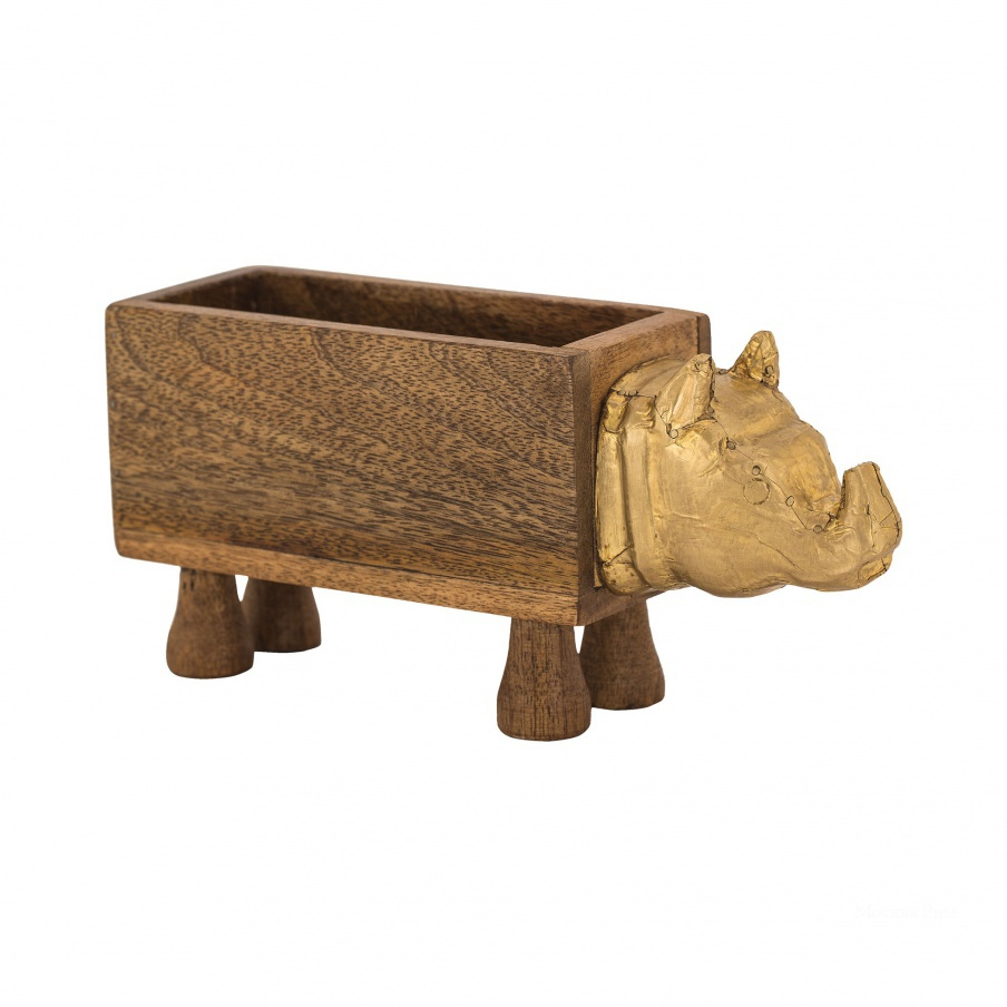 Коробочка для хранения German Silver Rhino Box Dimond Home