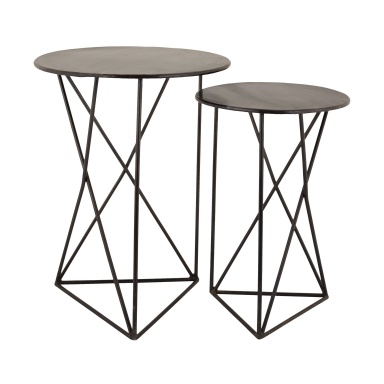 Стол Geometric Metal Accent Tables
