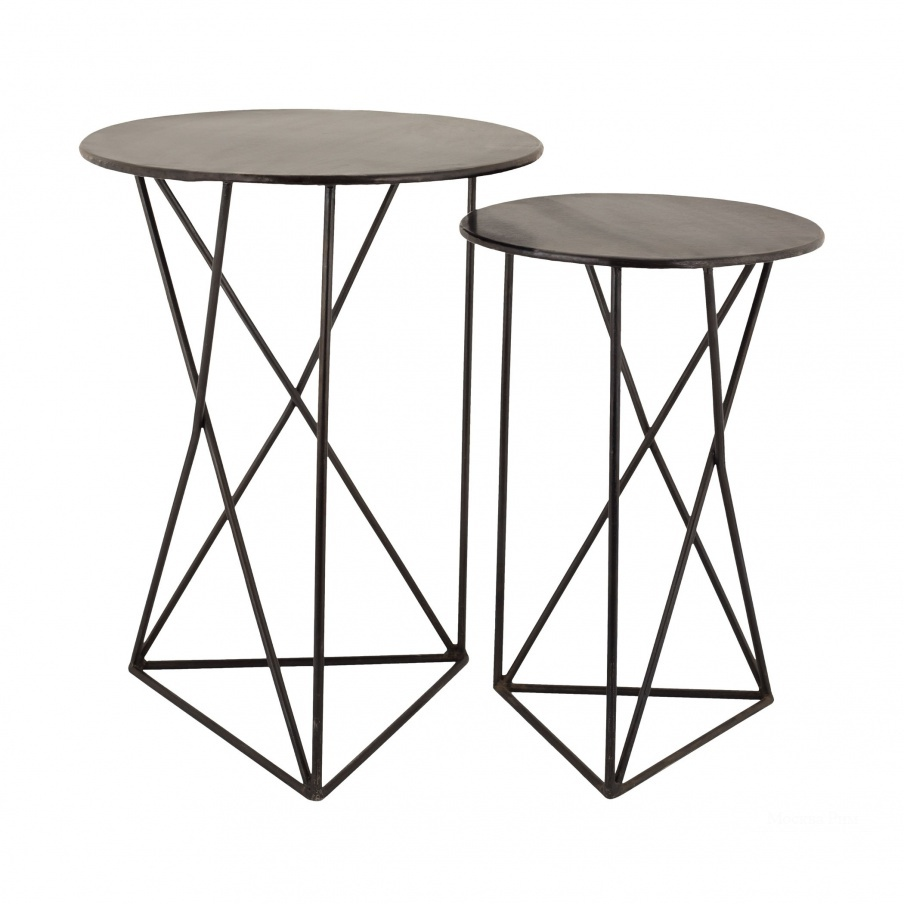 Стол Geometric Metal Accent Tables Dimond Home