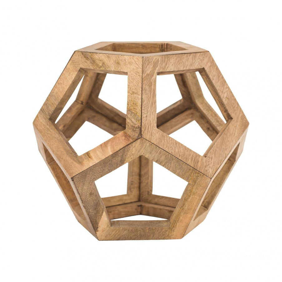 Аксессуар Wooden Honeycomb Orb Dimond Home