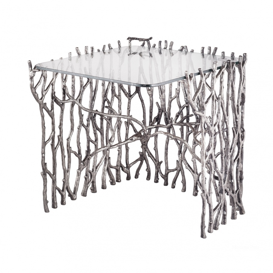 Стол Small Silvered Sticks Side Table Dimond Home