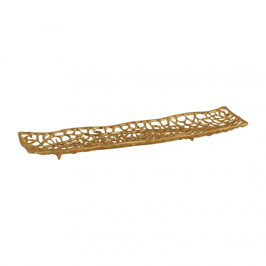 Поднос Leaf Veins Centerpiece Platter Dimond Home