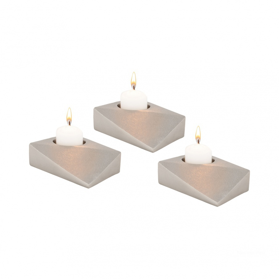 Подсвечник Trope Tea Light Holders - Set of 3 Dimond Home