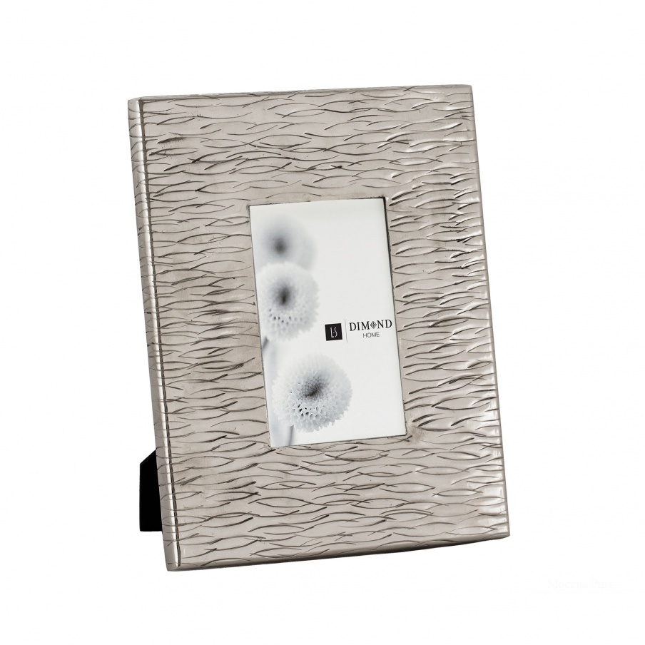 Рамка для фотографий Small Aluminum Textured Photo Frames Dimond Home