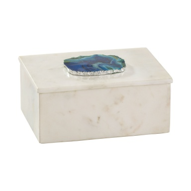Коробочка для хранения Marble and Blue Agate Box