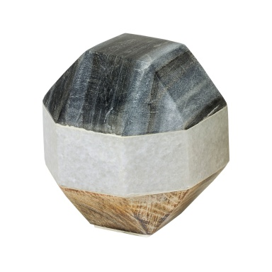 Аксессуар Marble and Wood Dodecahedron