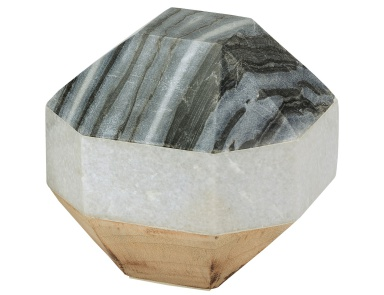 Аксессуар Marble and Wood Dodecahedron Dimond Home
