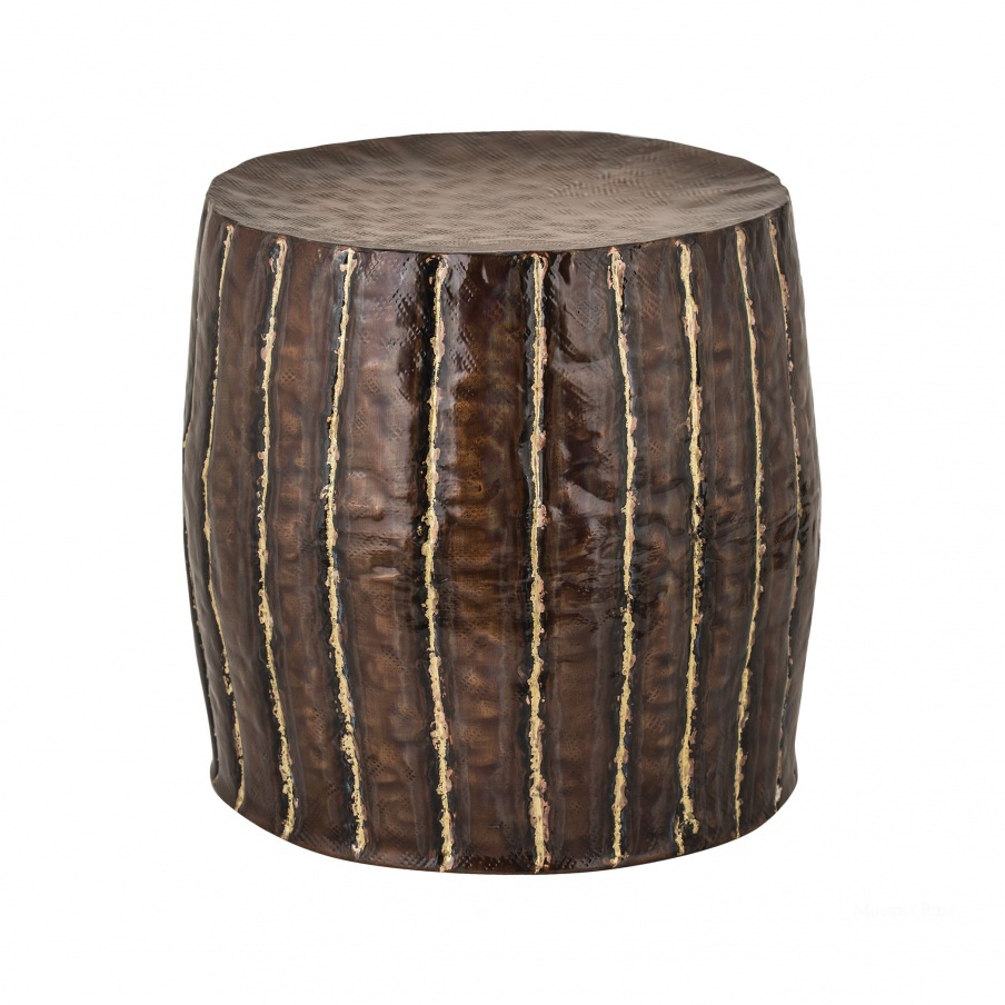 Табурет Copper Stool With Welded Fluteds Dimond Home