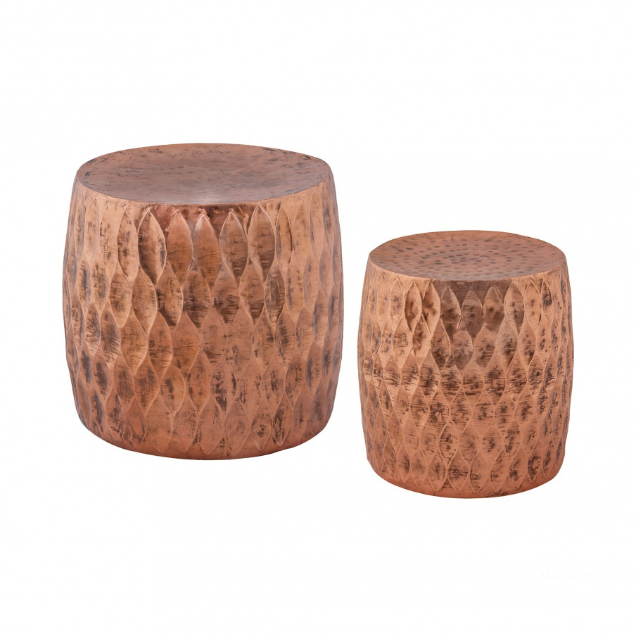 Табурет Djembe 2-Piece Iron Stool Set Dimond Home