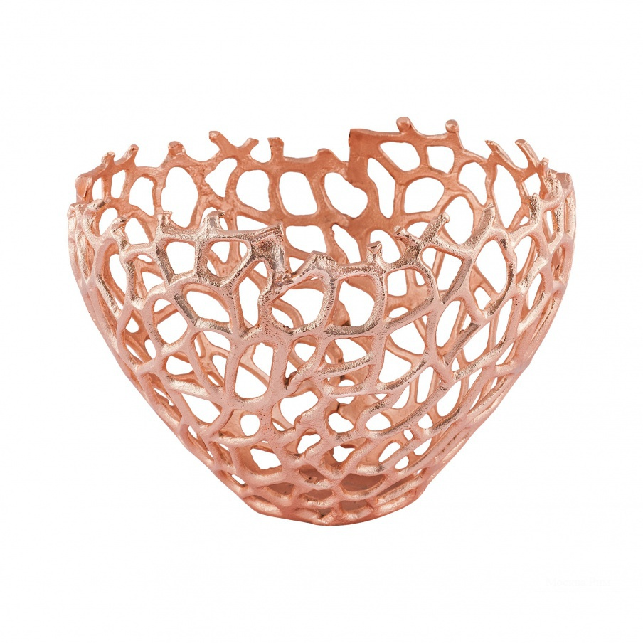 Вазочка для мелочей Eissee 10-Inch Bowl In Copper Dimond Home