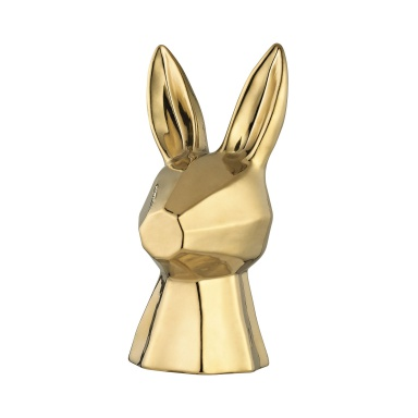 Аксессуар Gold Ceramic Rabbit