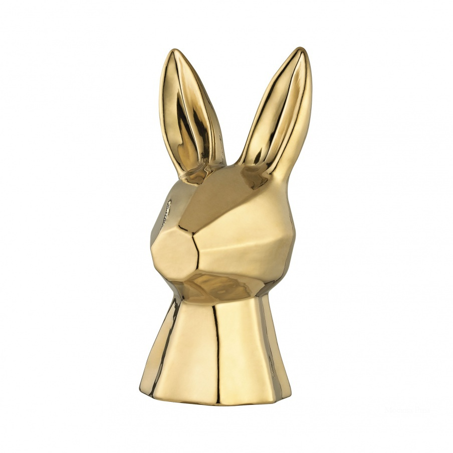 Аксессуар Gold Ceramic Rabbit Dimond Home