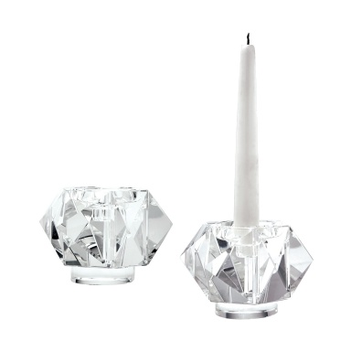 Подсвечник Faceted Star Crystal Candleholders - Small. Set Of 2