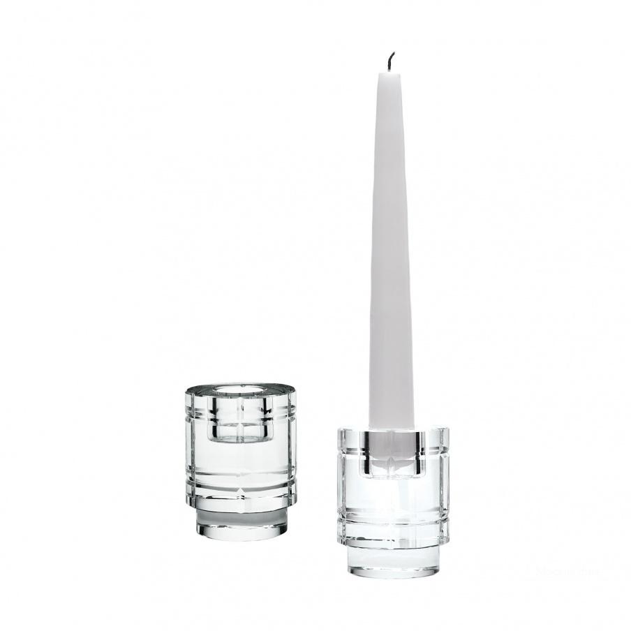 Подсвечник Windowpane Crystal Column Candleholders - Set Of 2 Dimond Home
