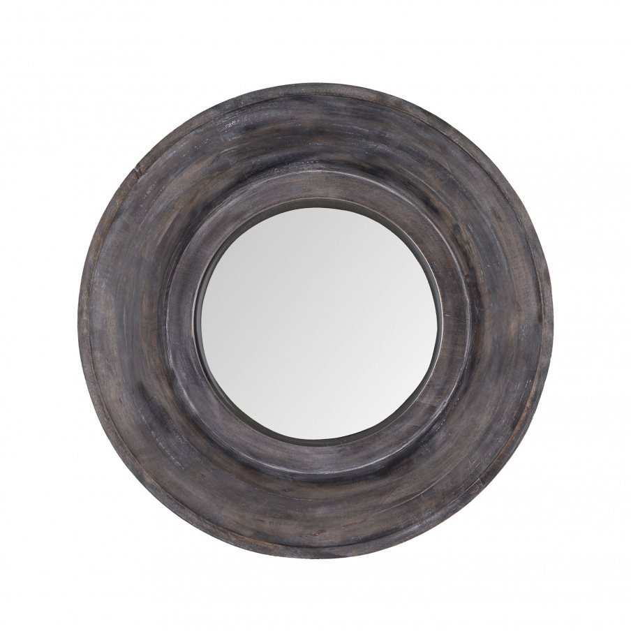 Настенное Dark Grey Stain Porthole Mirror Dimond Home
