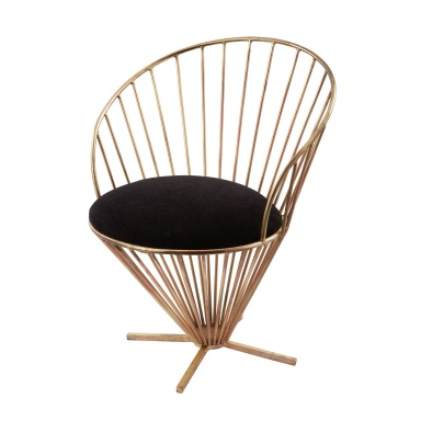 Стул Iron Taper Wire Chair