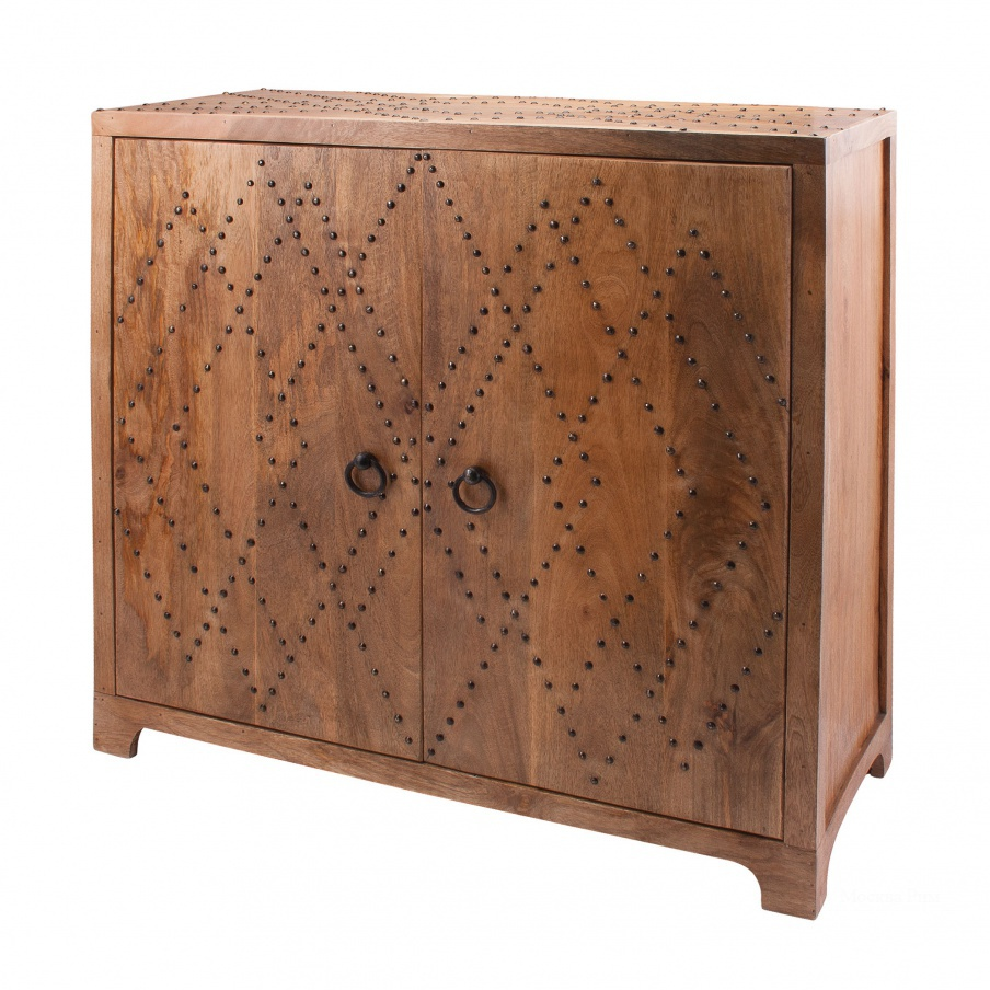 Шкаф Plaid Nail Head Cabinet Dimond Home