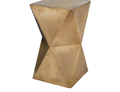 Табурет Faceted Stool With Brass Cladding Dimond Home