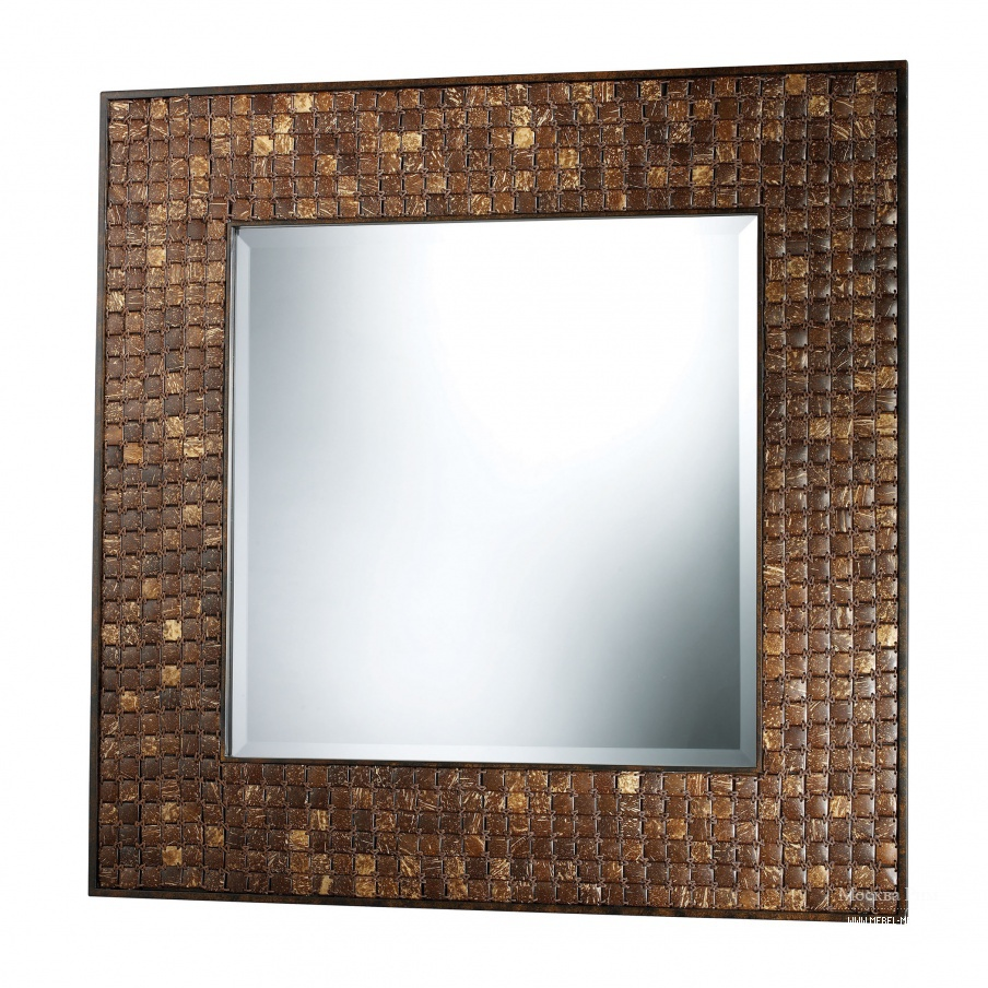 Зеркало Carrick Mirror In Coconut Shell Dimond Home
